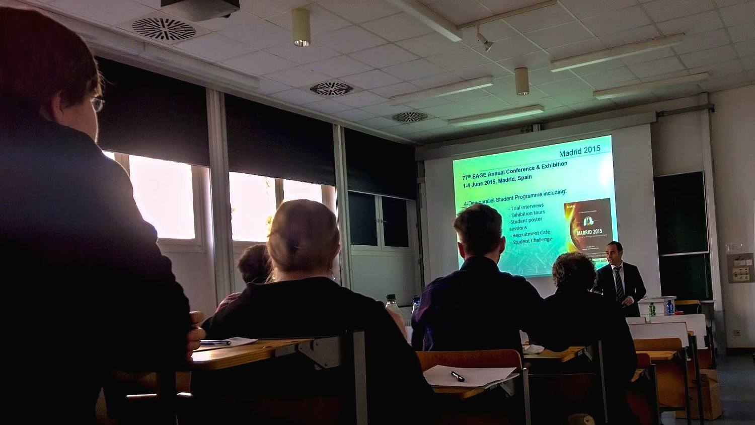 EAGE Student Lecture Europe 2014-2015